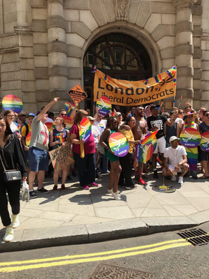 London Liberal Democrats Pride