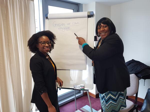 Training at Lib Dem Conference